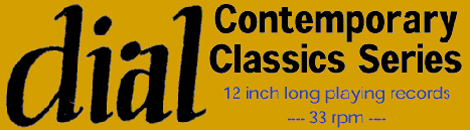 DIAL 12inch Contemporaly Clasics TITLE